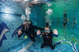 Под водой с инструктором - миниатюра